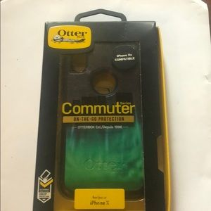 Otter Box Commuter Case IPhone 10-New/Custom